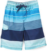 Kanu Surf Navy Echelon Stripe Boardshorts - Toddler & Boys