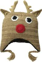 D&Y Women's Reindeer Ugly Christmas Hat