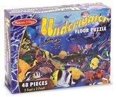 Melissa & Doug Underwater 48 Piece Floor Puzzle by