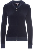 Juicy Couture Outlet - LOGO VELOUR JUICY DOTS ROBERTSON JACKET