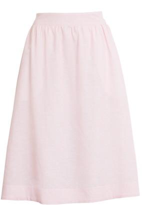 1901 Stripe Midi Skirt