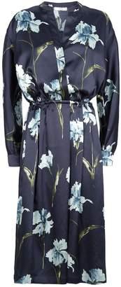 Vince Floral Print Dress