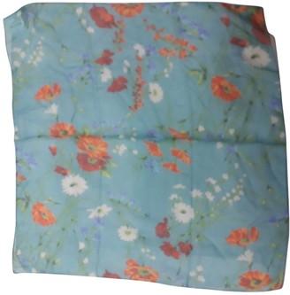 Dolce & Gabbana Turquoise Silk Scarves