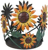 SONOMA Goods for LifeTM Large Metal Sunflower Candle Jar Holder