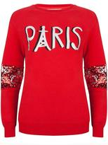 Wanderlust Red Sweatshirt Paris