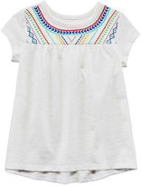 Arizona Short Sleeve Blouse - Toddler Girls