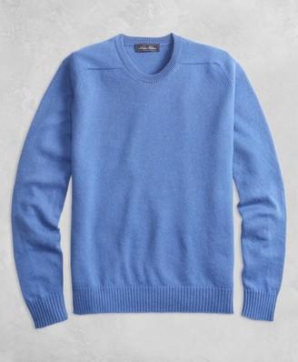 Brooks Brothers Golden Fleece 3-D Knit Cashmere Crewneck Sweater