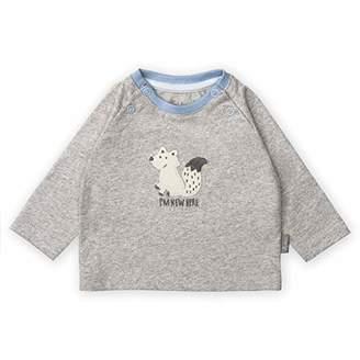 Sigikid Baby Langarmshirt Sweatshirt, (Melange Grey 3), (Size: 50)