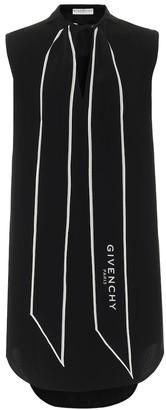 Givenchy Crepe minidress