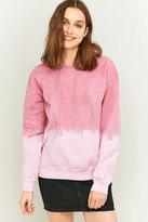 Bdg Pink Ombre Crew Neck Sweatshirt