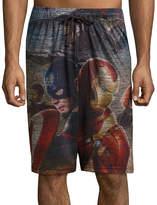 Marvel Captain America Civil War Pajama Shorts