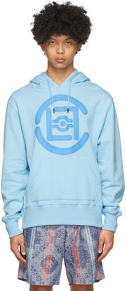 Clot Blue Fifth Elemental Logo Applique Hoodie