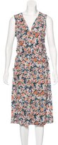 Current/Elliott Floral Print Wrap Dress