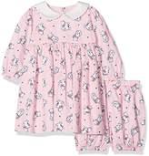 Rachel Riley Baby Girls' Kitten Peter Pan Collar Bloomers Dress and shorts