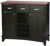 Home Styles Large Buffet - Cherry Top