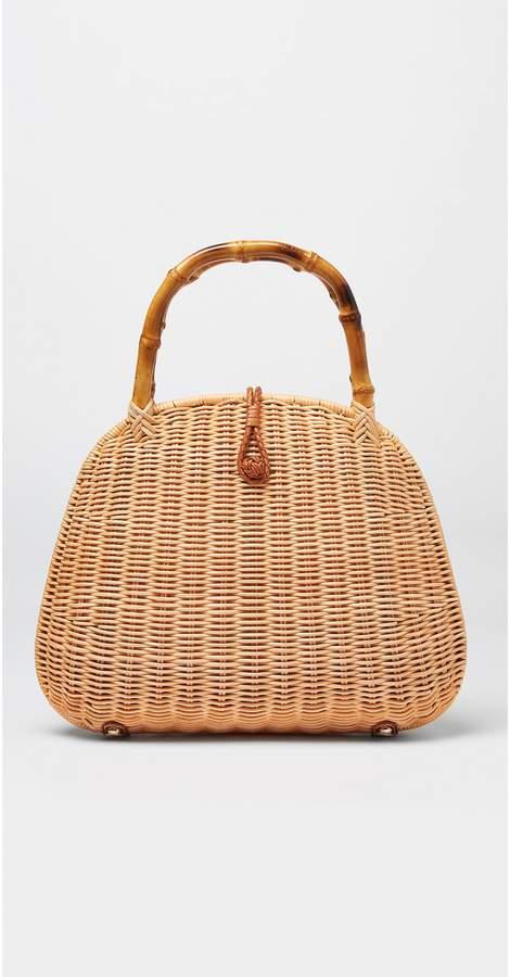 J.Mclaughlin Aria Wicker Bag