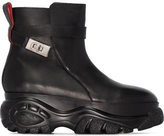 032c x Buffalo Jodhpur ankle boots