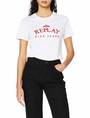 Replay Women's W3517 .000.22832p T-Shirt