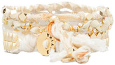 Ettika Gold Stud Wrap Bracelet
