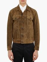 Marc Jacobs Khaki Suede Jacket