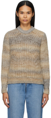 A.P.C. Brown Marianne Sweater