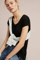 Maeve Side-Ruched Tee