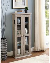 Walker Edison Furniture Company 41 in. Wood Media Tower Cabinet in Driftwood