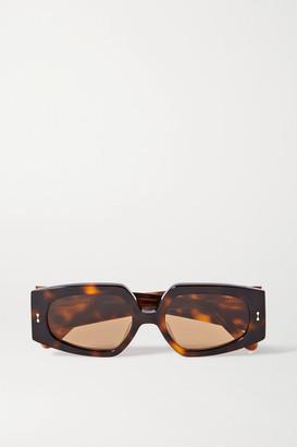 Zimmermann Espionage Square-frame Tortoiseshell Acetate Sunglasses