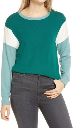 Gibson Colorblock Dolman Top
