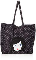 Lulu Guinness Women's Foldaway Shopper Tote