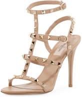 Valentino Rockstud Suede 105mm Sandal