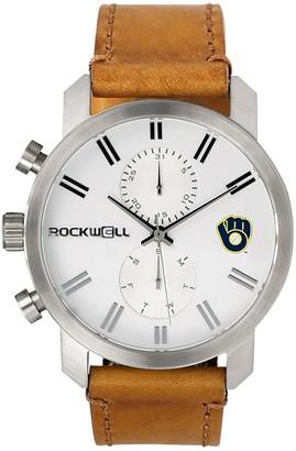 Rockwell Men's Milwaukee Brewers Apollo Chronograph Watch