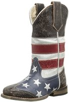 Roper Square Toe Americana Western Boot (Toddler/Little Kid)