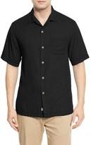Tommy Bahama Men's 'Havana Herringbone' Silk Camp Shirt