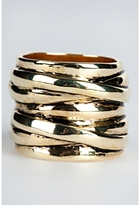 Criss Cross Stacked Ring