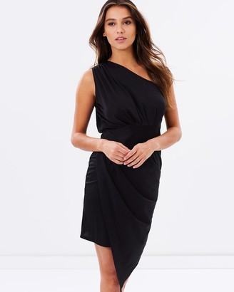 SKIVA - Women's Party Dresses - One Shoulder Asymmetrical Dress - Size One Size, 6 at The Iconic
