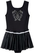 Jacques Moret Girls 4-14 Butterfly Skirtall Leotard