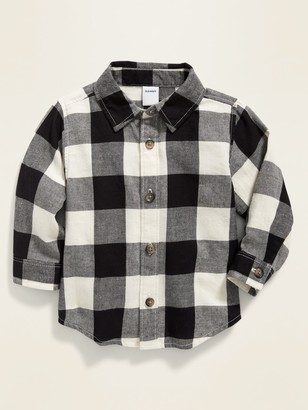 Old Navy Buffalo-Plaid Twill Shirt for Baby