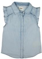 Girl's Hudson Kids Sleeveless Ruffle Shirt