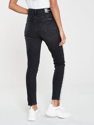 Calvin Klein Jeans CKJ 010 High Rise Skinny Ankle Jean - Black