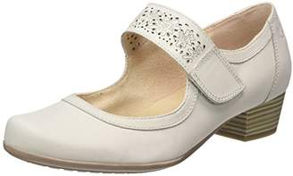 Caprice Women's 24300 Wedge Heels Sandals, Lt Grey Nubuc