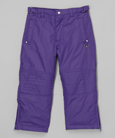 Hawke & Co Cosmic Purple Snow Pants - Toddler
