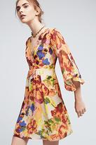 Maeve Deloria Printed Silk Dress