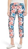 Women's Halogen Crop Stretch Cotton Pants