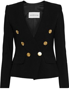 Alexandre Vauthier Double-breasted Stretch-knit Blazer