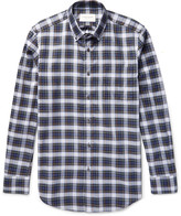 Public School - Button-down Collar Checked Cotton Shirt