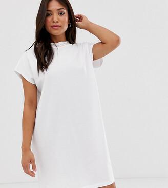 Asos DESIGN Petite grown on sleeve t-shirt dress