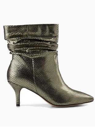 Shoe The Bear Agnete Slouchy Metallic Boots Silver - 36