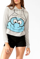 Forever 21 Brainy Smurf Hoodie Pullover