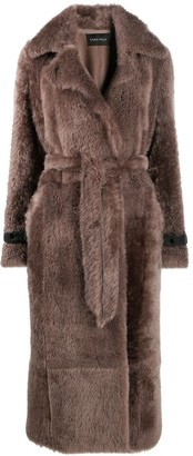 Cara Mila Juliette shearling coat